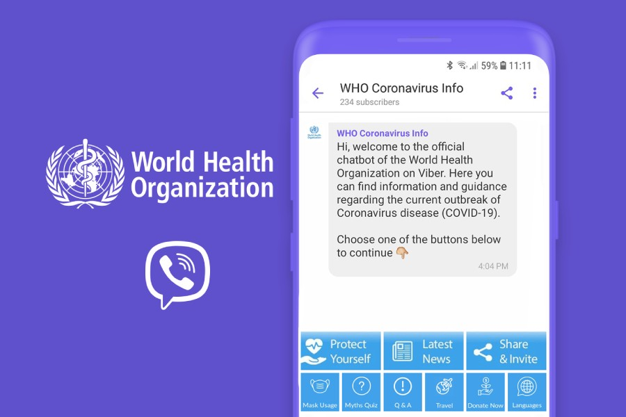 WHO, Viber team up to fight COVID-19 misinformation
