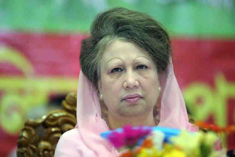 'Khaleda is in stable condition at Gulshan residence'