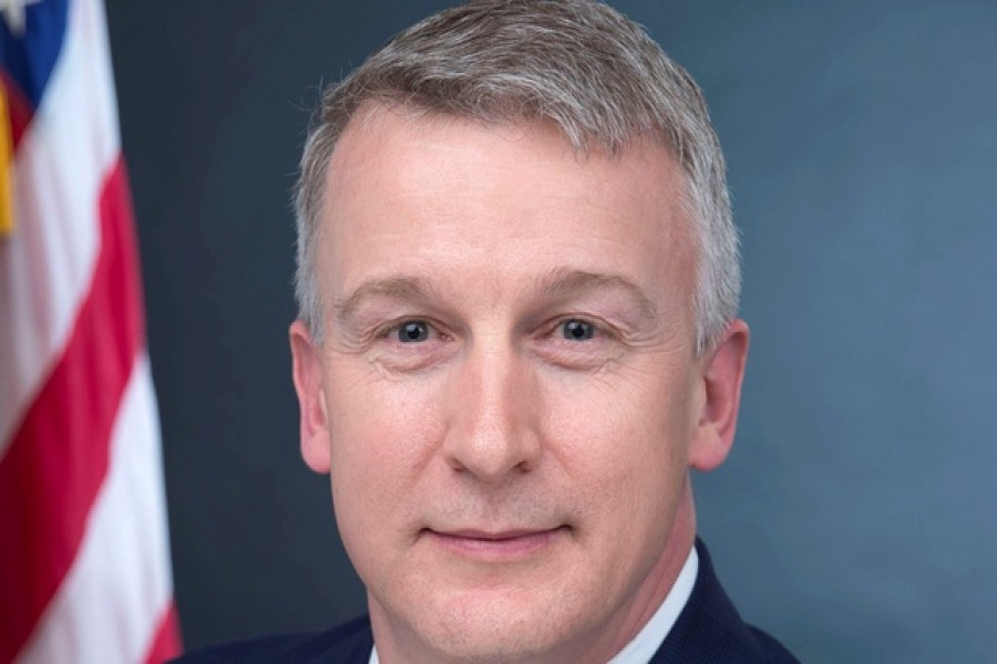Rick Bright, recently ousted director of the Biomedical Advanced Research and Development Authority, or BARDA, is seen in his official government handout portrait photo from the US Department of Health and Human Services taken in Washington, US in 2017. — US Department of Health and Human Services/Handout via Reuters