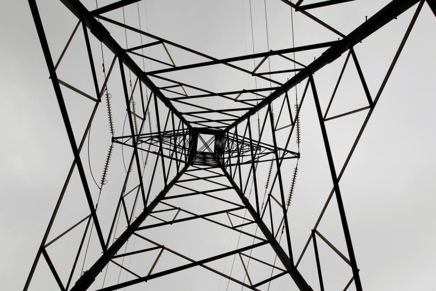 FILE PHOTO: A high voltage electrical pylon stands on the outskirts of Kenya's capital Nairobi, March 14, 2011. REUTERS/Thomas Mukoya/File Photo