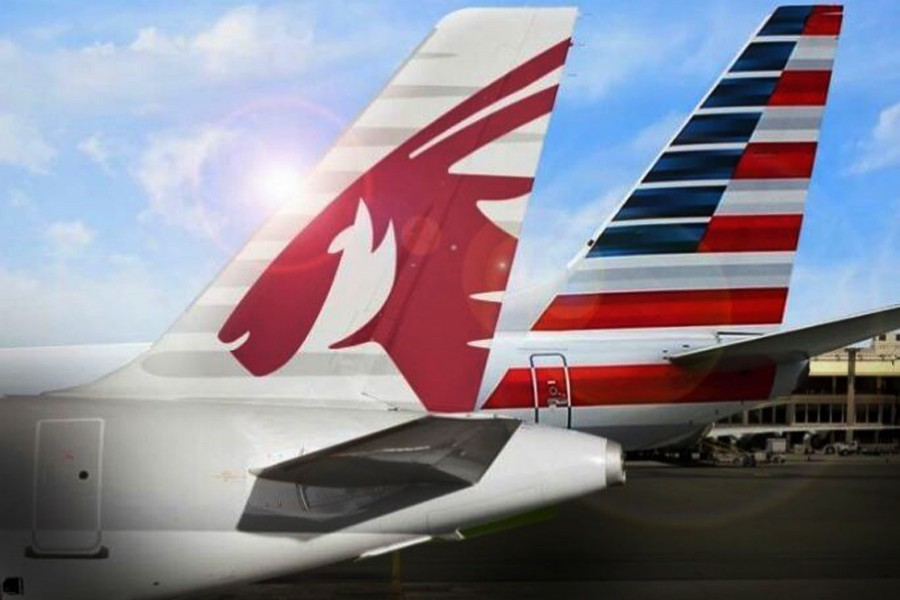 Qatar Airways and American Airlines partnership begins with domestic U.S. Codeshare  ‎