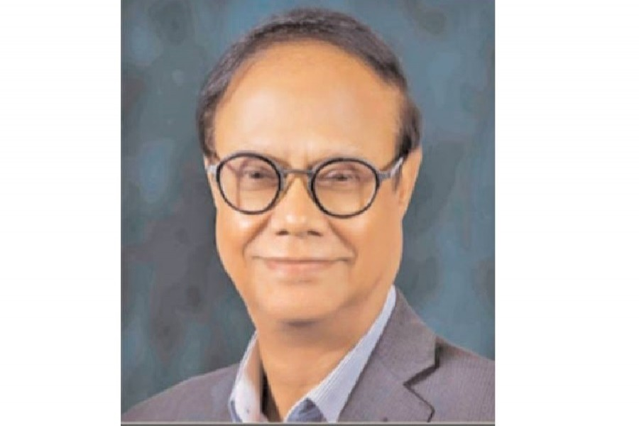 Ahsan H Mansur, executive director of Policy Research Institute, is seen in the image. — FE Photo