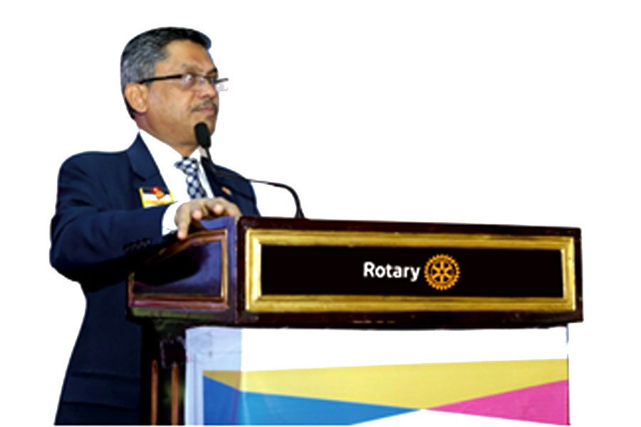 New Governor of Rotary Md. Rubayet Hossain assumes office today