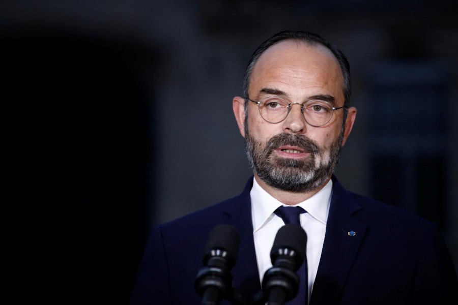 Edouard Philippe seen in this undated Reuters photo