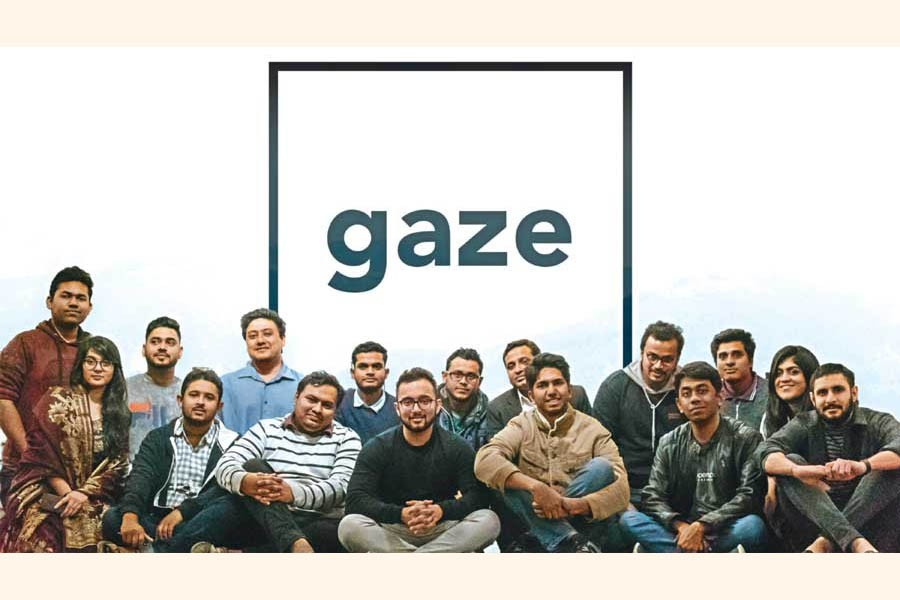 The inspiring Gaze team