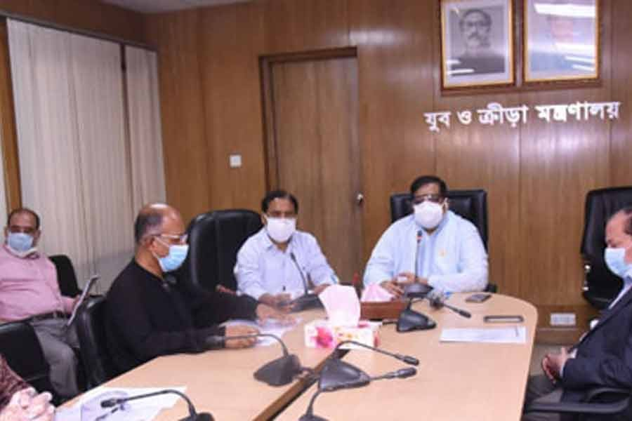Govt considers resuming sports under strict health safety measures