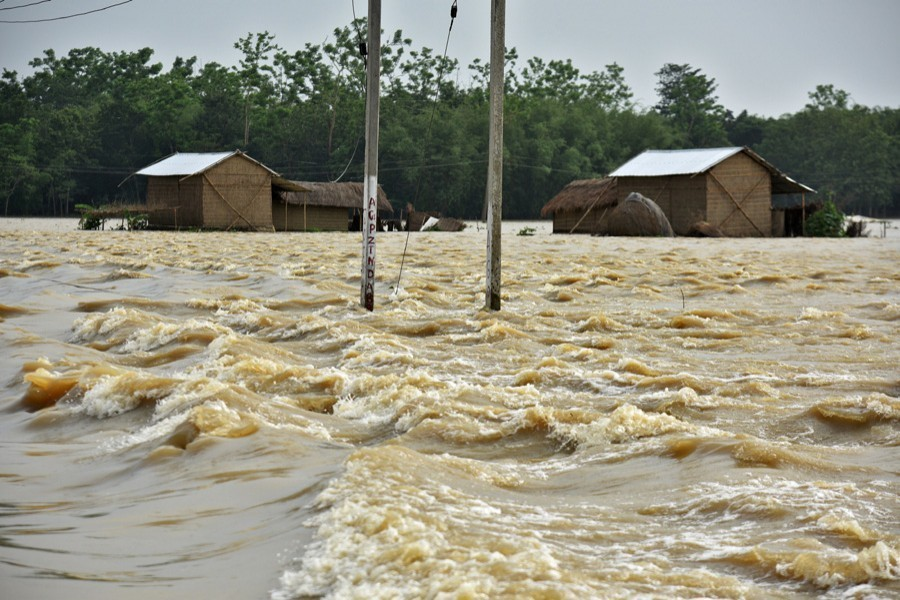 Floods set to ravage second time