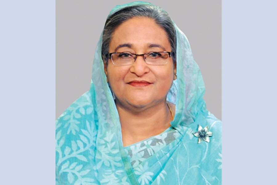 Prime Minister Sheikh Hasina — BSS/Files