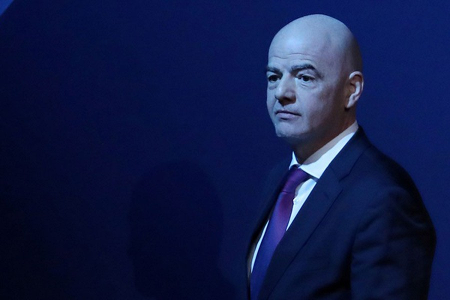 FIFA condemns criminal proceedings against Infantino