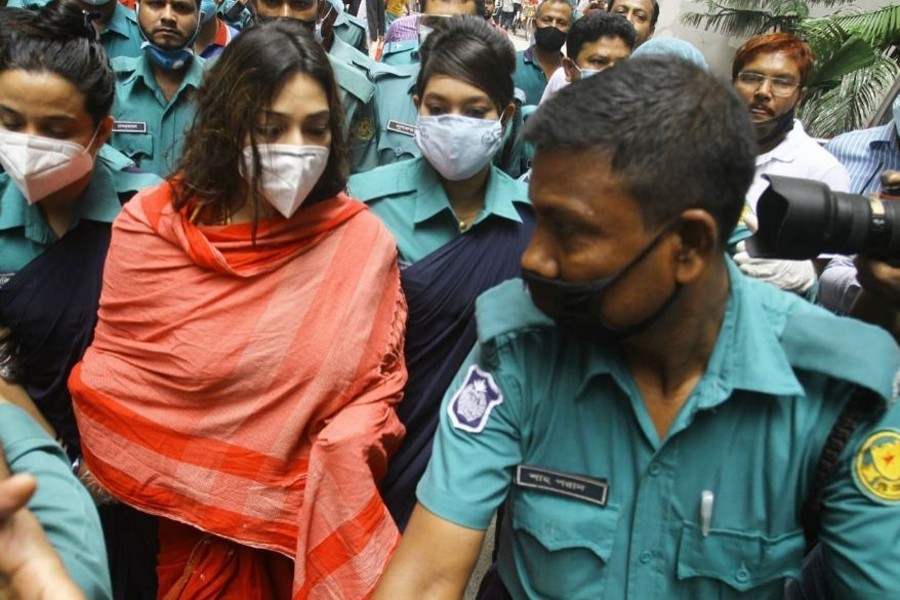 Police submit charge-sheet against Dr Sabrina, 7 others