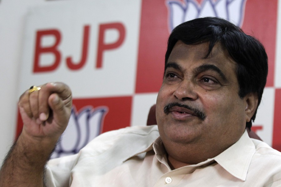 India's minister for MSME (micro, small and medium enterprises) Nitin Gadkari seen in this undated Reuters photo