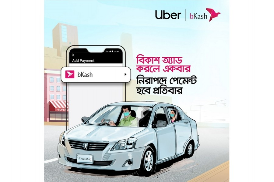 Uber, bKash partner to provide contactless payment option for riders