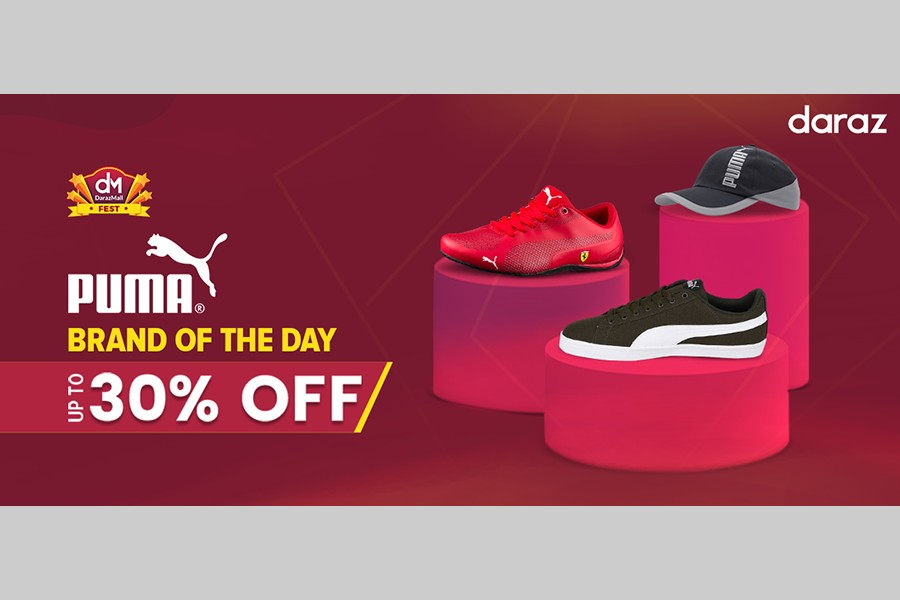 Puma offers up to 30pc discount on Daraz
