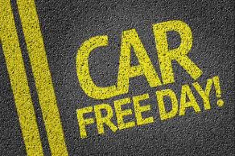 World Car Free Day Tuesday