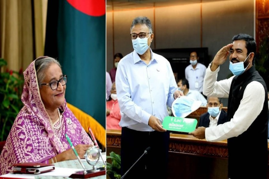 Minister-MyOne Group hands over 0.1m pieces of Minister surgical masks