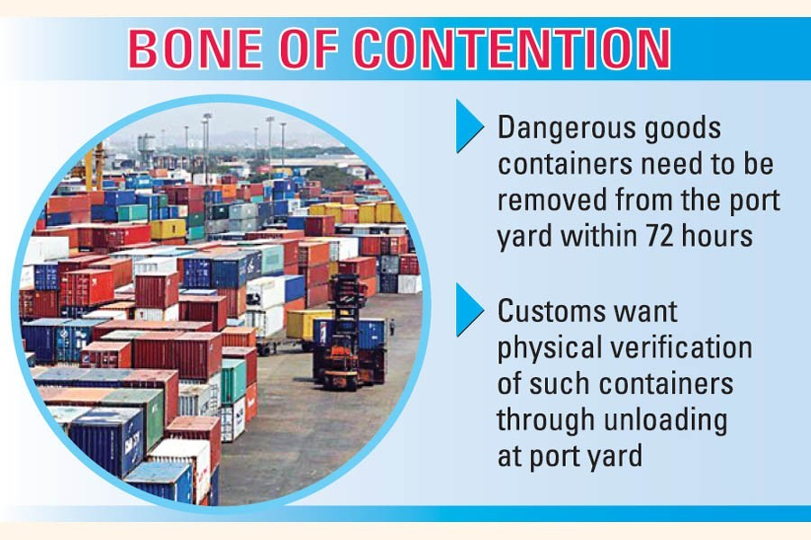 'Dangerous' cargoes at Chattogram port: Row over unloading lingers