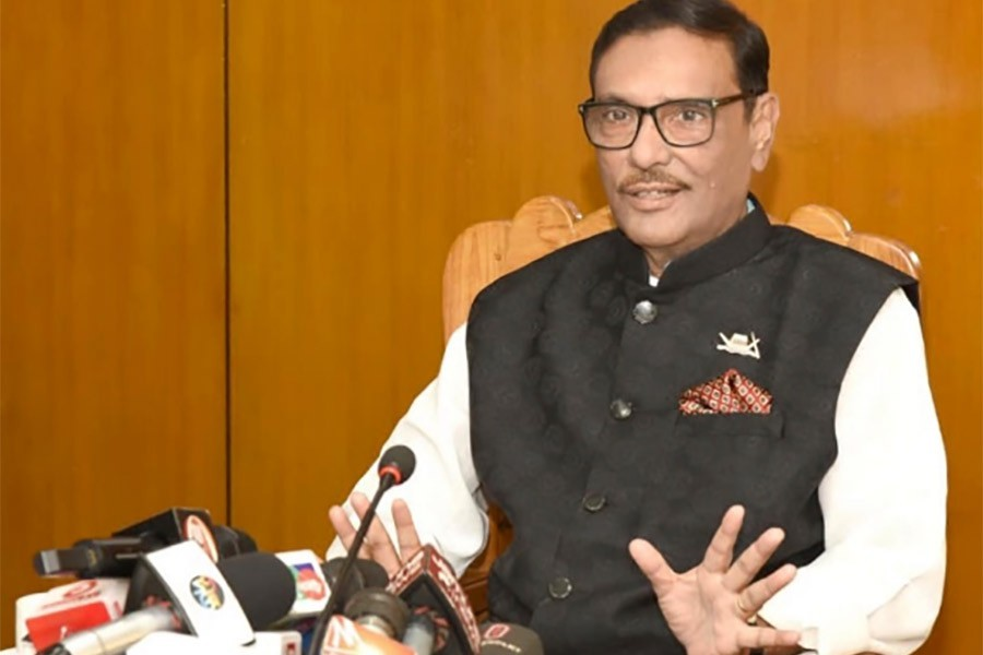 Quader says BNP joins election to make it questionable