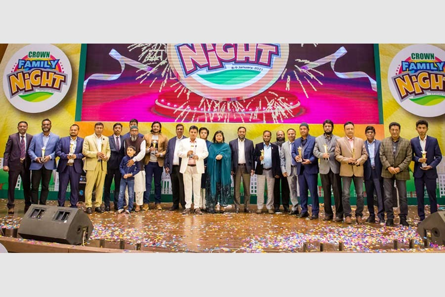 Crown Cement organises family night event