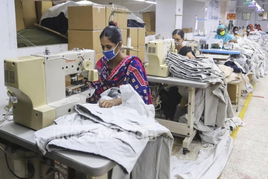 'Most RMG factories ignored layoff rules amid pandemic'
