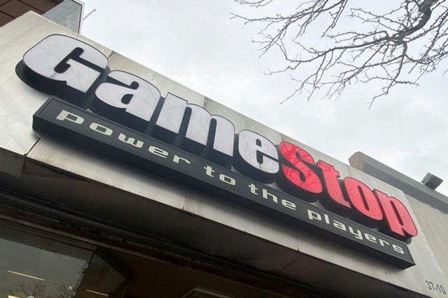 A GameStop store is seen in New York, US on January 27, 2021 — Reuters photo