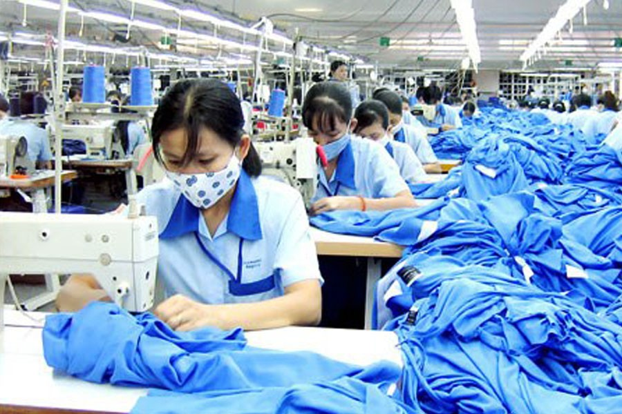 China's garment industry sees lower revenues in 2020