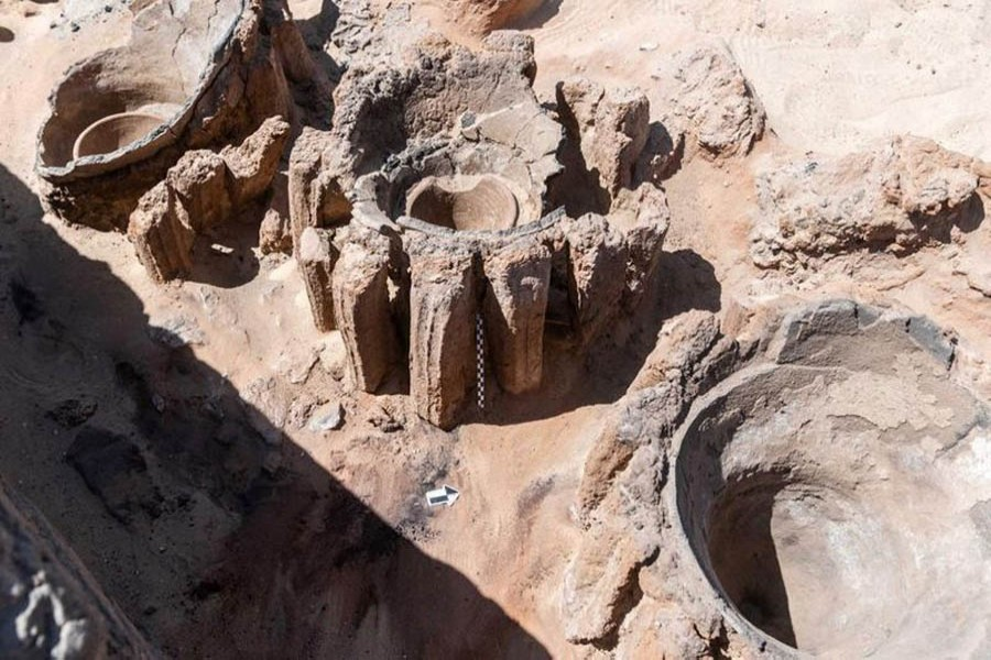 Egypt uncovers ancient mass production brewery