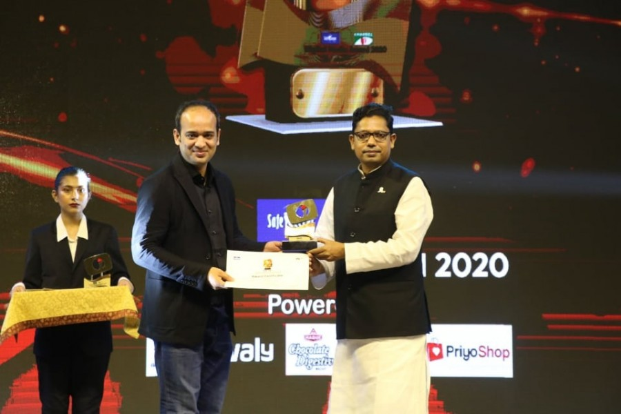 Evaly receives Channel I Award