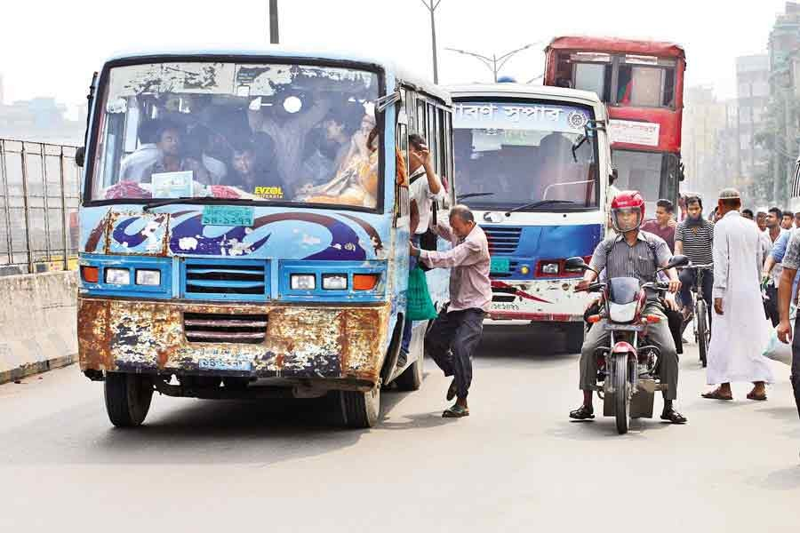 Govt allows public transport in Dhaka, other cities from Wednesday