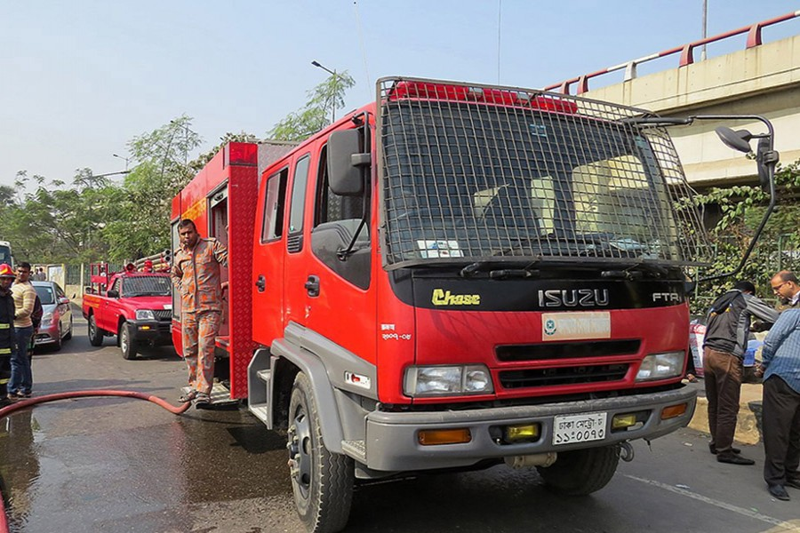 Bangladesh Fire Service and Civil Defence introduces new helpline number