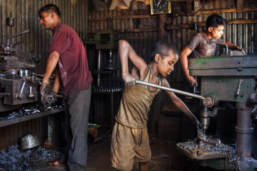 Call to end child labour for achieving SDG target 8.7