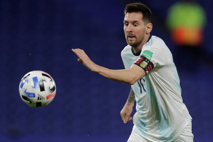 South American players get 50,000 vaccine doses in exchange of Messi's jersey