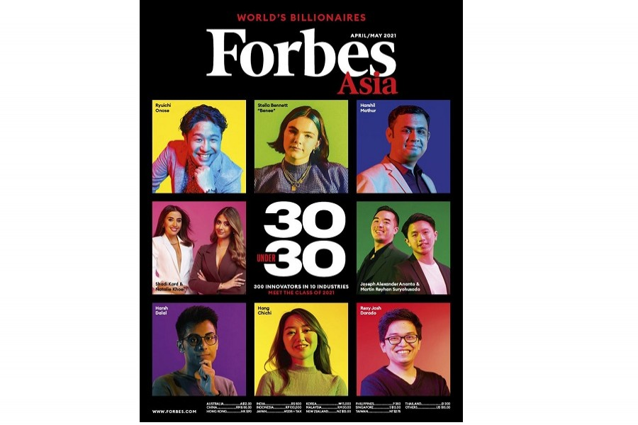 Bangladeshis dominate Forbes 30 Under 30 Asia 2021 list