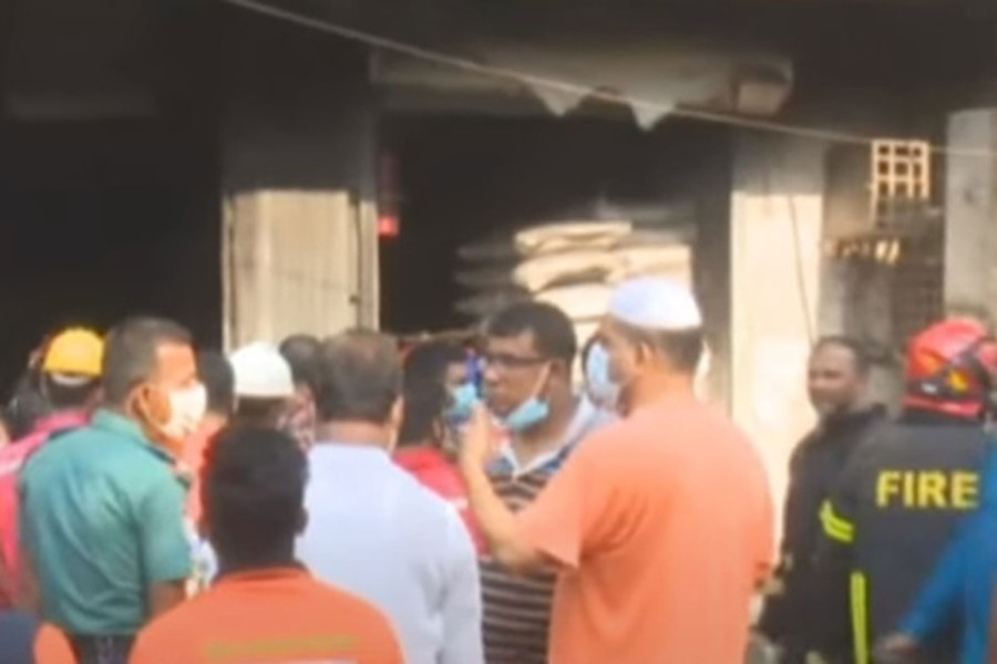 Old Dhaka chemical warehouse  fire leaves two dead