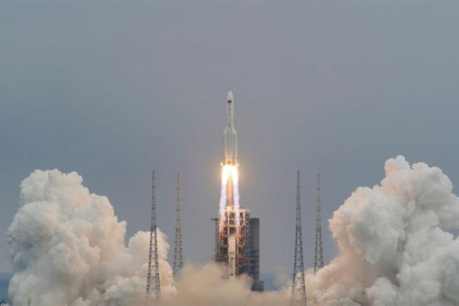 Explainer-Why all the fuss over falling debris from China's most powerful rocket?