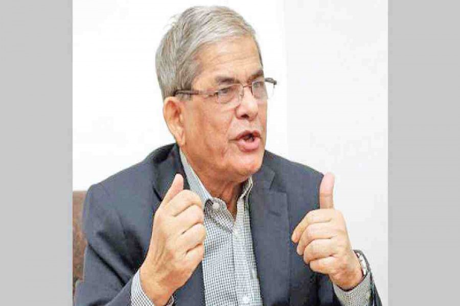 Fakhrul says BNP not enjoying Eid for over a decade