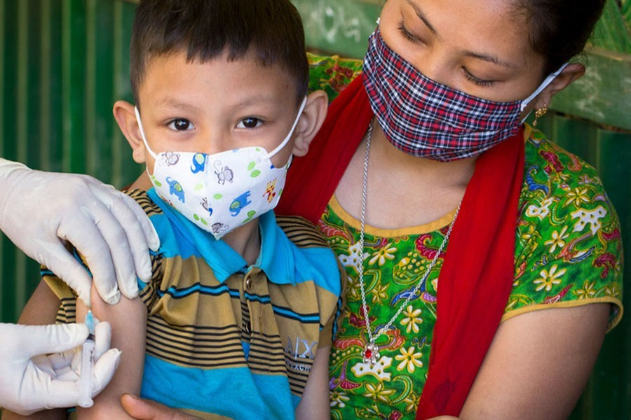 Child diseases on rise as COVID-19 slows routine vaccinations, says UN