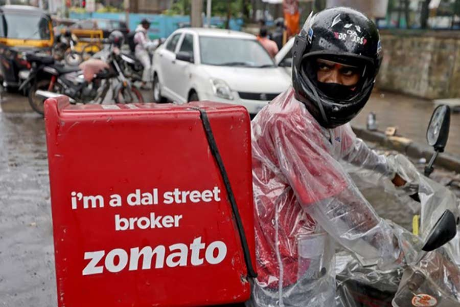 Ant-backed Zomato soars in India market debut to $12 billion valuation