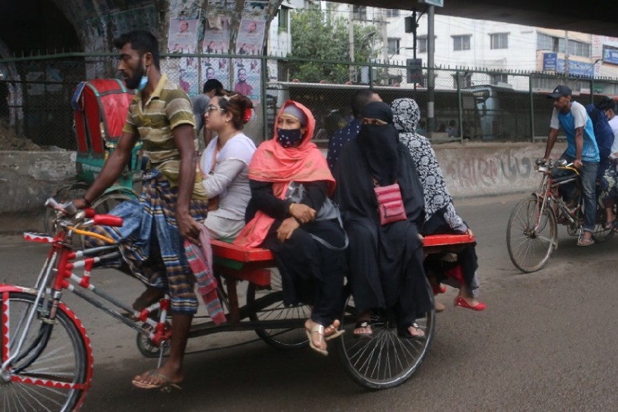 568 arrested in Dhaka on seventh day for violating lockdown restrictions