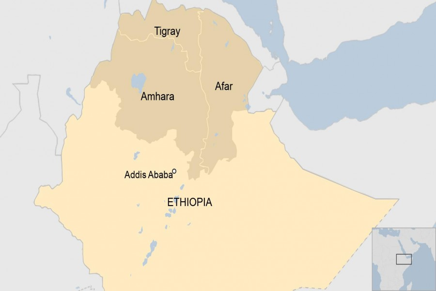 Thousands of Tigray rebels killed in fighting, Ethiopian military claims