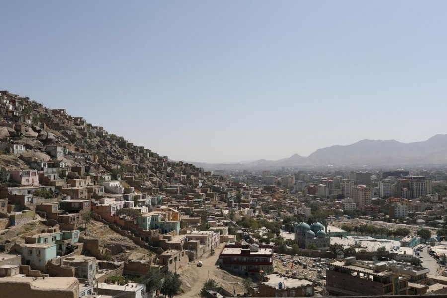 A general view of the city of Kabul, Afghanistan on September 5, 2021 — WANA (West Asia News Agency) via REUTERS