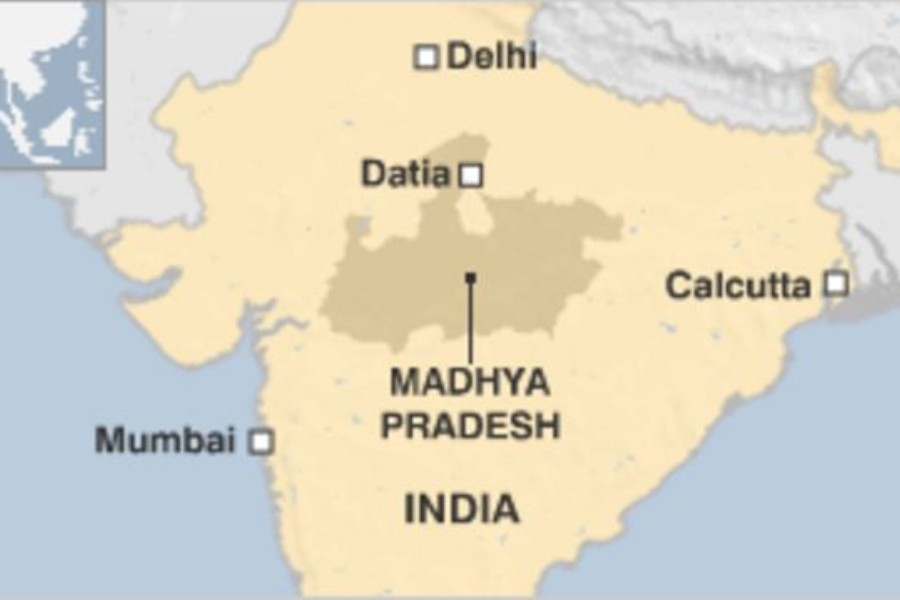 Six minor girls paraded naked in India as part of 'rain ritual'