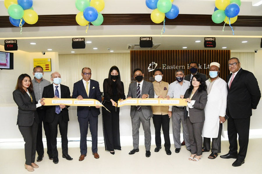 EBL opens its relocated Khulshi branch in Chattogram