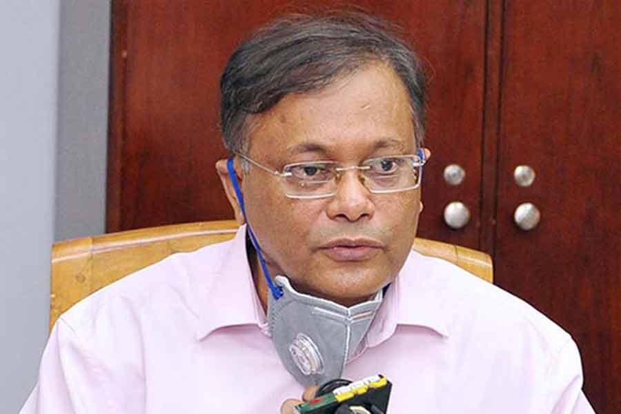 UN help not necessary for Bangladesh to hold elections, Hasan Mahmud says