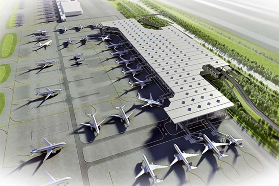 Third terminal of Dhaka Airport to be visible by Dec