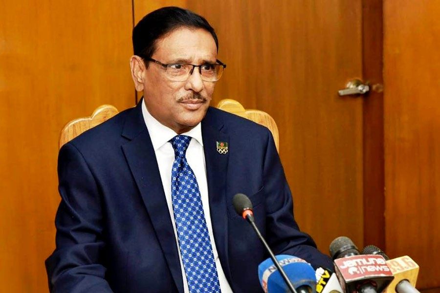 BNP will get befitting reply if it tries to create chaos, Obaidul Quader warns