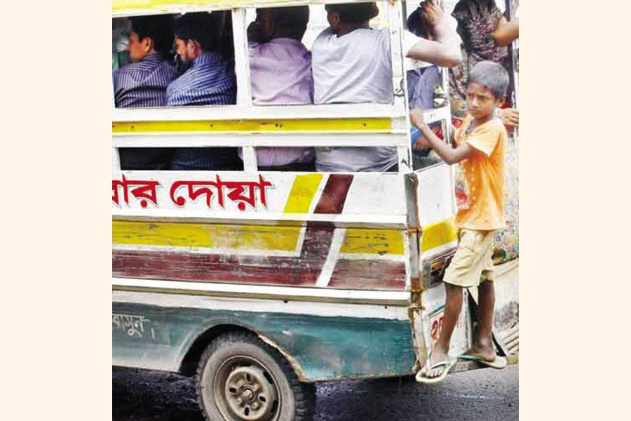 Move to free transport sector from child labour