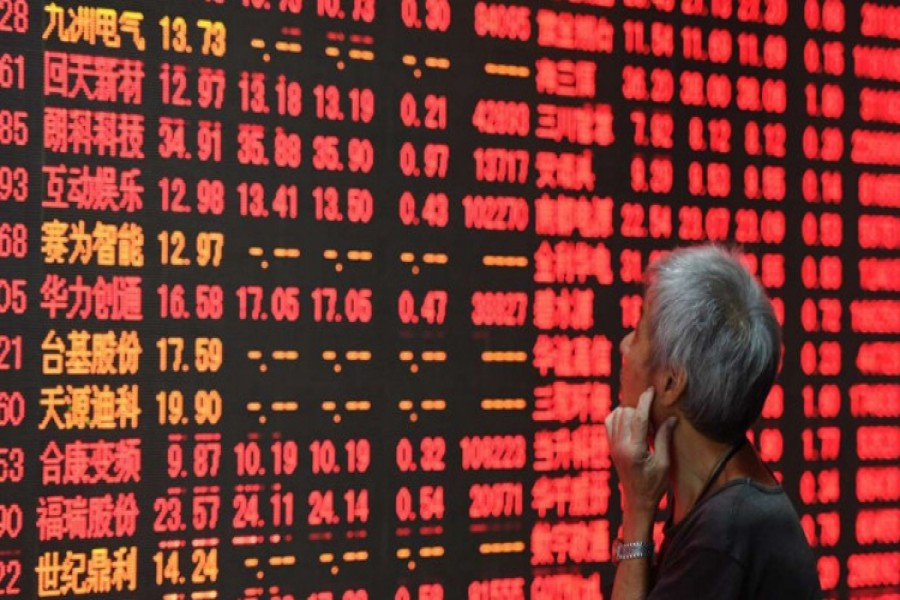 china shares rise on c bank liquidity support