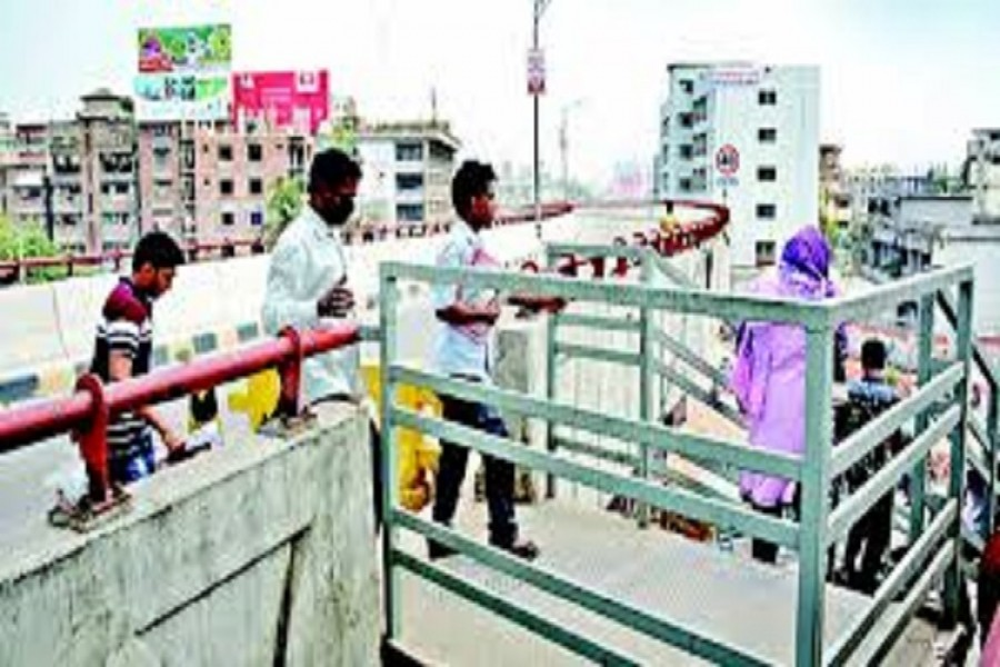 stairs on dhakas mayor hanif flyover have to be removed after top courts order
