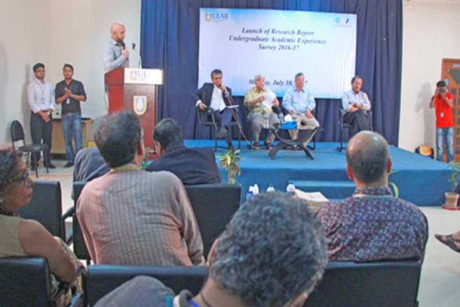 ULAB holds report launching ceremony