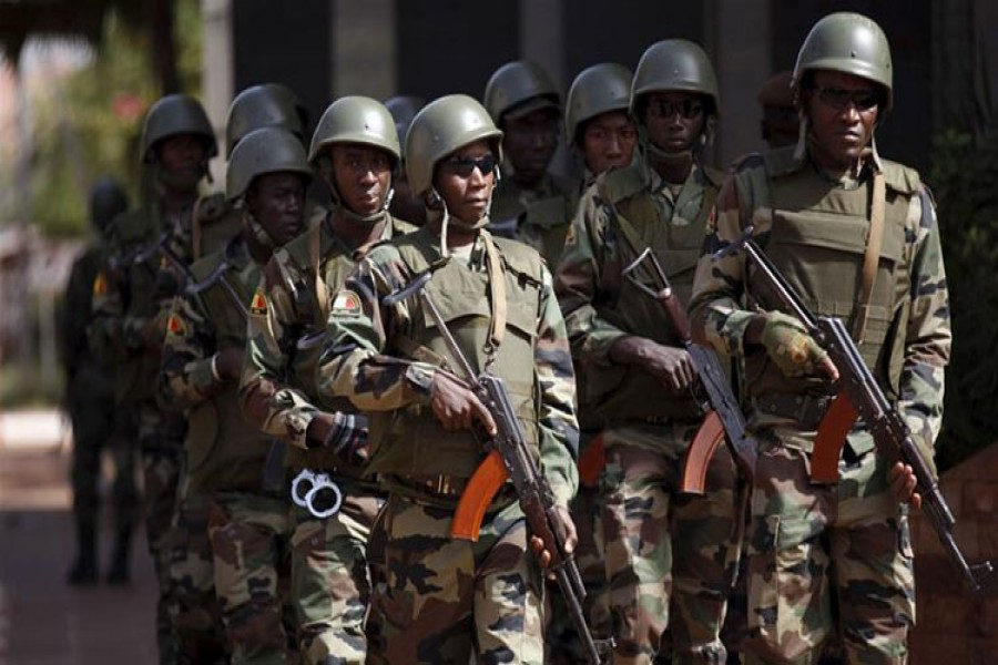 The United Nations has at least 12,000 troops deployed in Mali. - Reuters photo